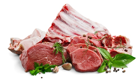 carne roja: Picar. Foto de archivo