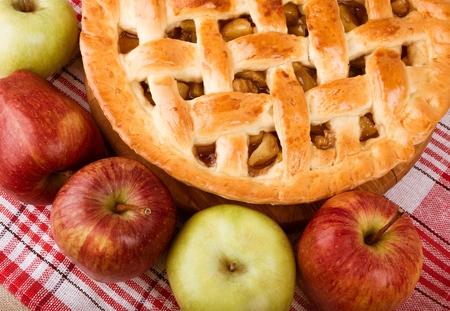 manzana: Pie de manzana.