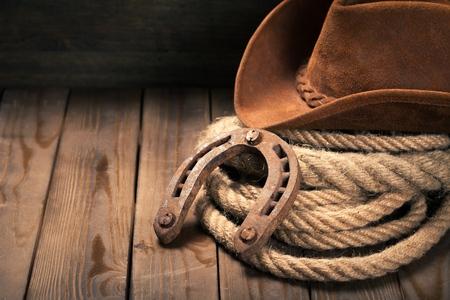 kapelusze: Kowboj. Zdjęcie Seryjne