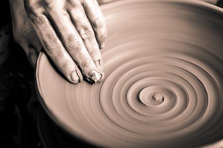 Pottery.