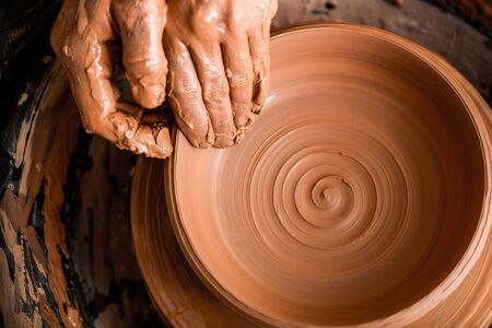 pottery: Artist.