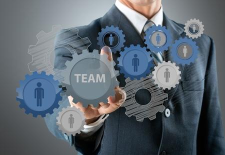 management process: Concept.