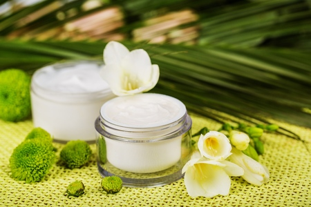 skin care products: Skin. Stock Photo