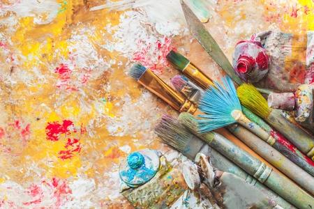 pintor: Artístico. Foto de archivo