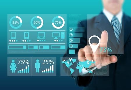 management training: Training. Stock Photo