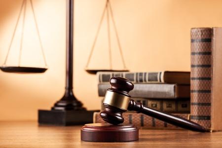 balanza de justicia: Ley. Foto de archivo