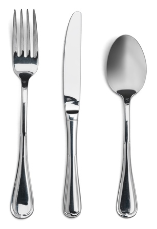 cuchillo: Tenedor.