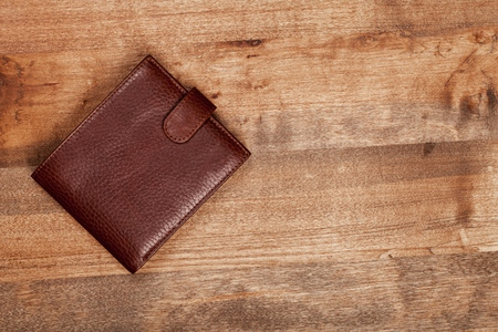 wallet: Wallet. Stock Photo