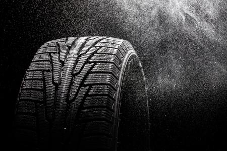 llantas: Neumático. Foto de archivo