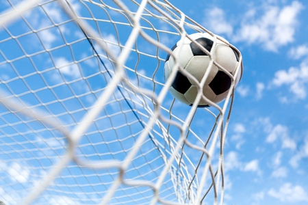 Soccer. Banque d'images