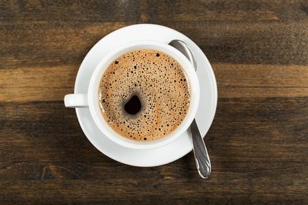 black coffee mug: Coffee.
