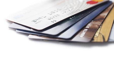 pagando: Tarjeta de crédito. Foto de archivo
