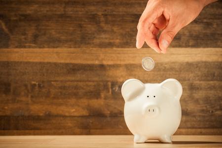 home finance: Piggy Bank.