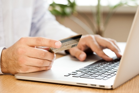 internet business: E-commerce. Stock Photo