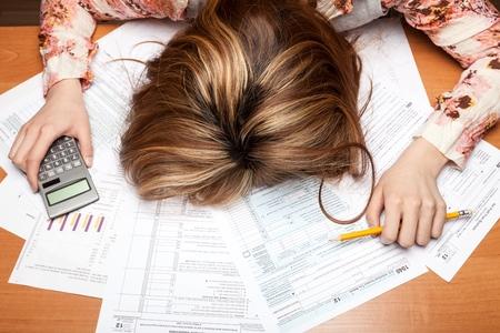 impuestos: Impuesto. Foto de archivo