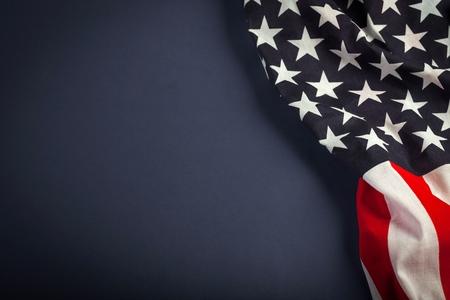 american flag: Flag. Stock Photo