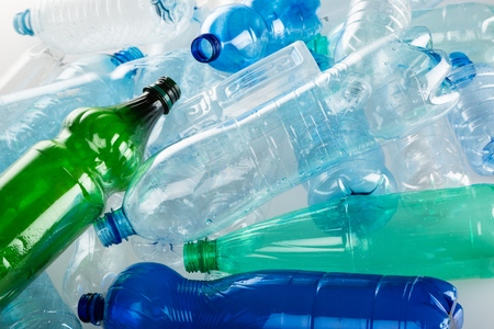 reciclar basura: Botella.