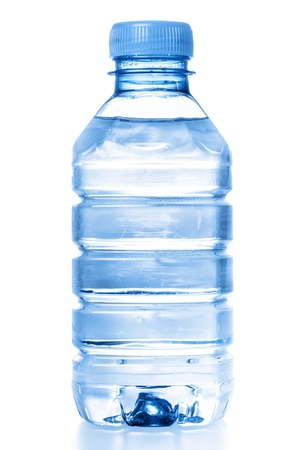 Botella de agua. Foto de archivo