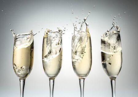 toast: Champagne.