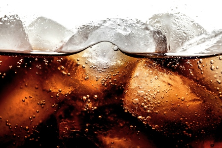drinking soda: Soda. Stock Photo