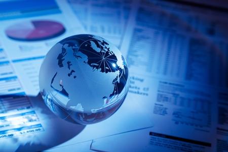global business: Finance.