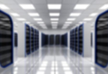 computer centre: Servidor de red. Foto de archivo
