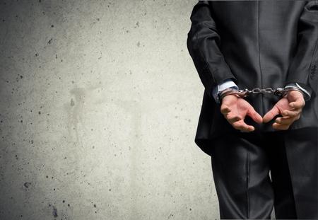 white collar crime: White Collar Crime. Stock Photo