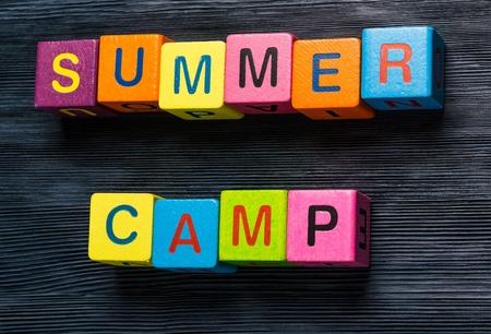 campamento: Camp. Foto de archivo
