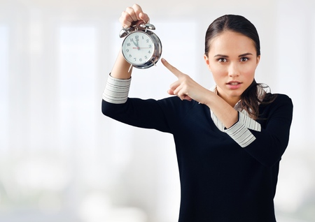 bossy: Time. Stock Photo