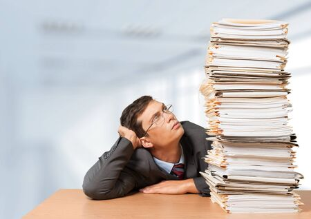 office physical pressure paper: Document.