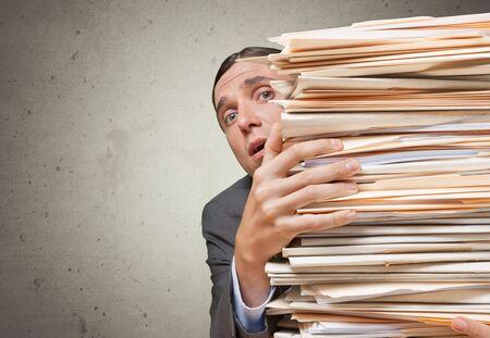 file clerk: Paper.