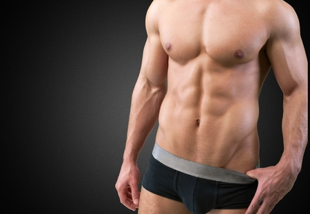 man underwear: Underwear. Stock Photo