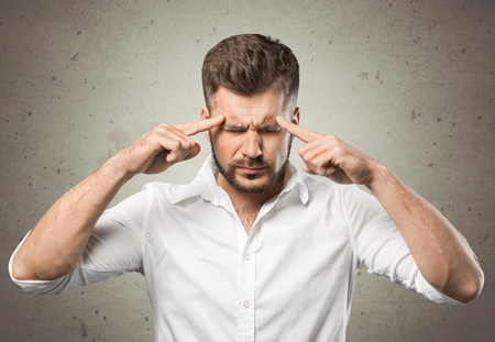 reasoning: Brain. Stock Photo