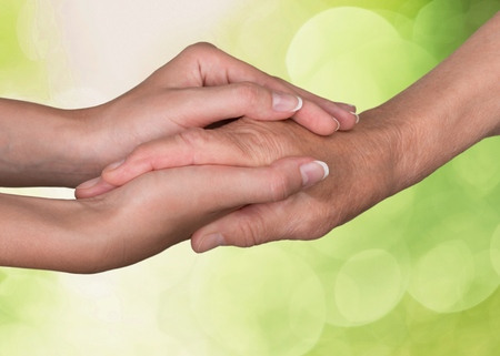 community work: Human Hand.
