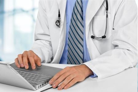 medico: Doctor.  Foto de archivo