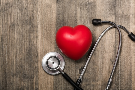 doctor stethoscope: Heart.