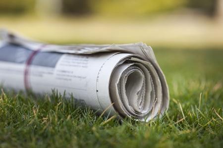 Newspaper. Stock fotó