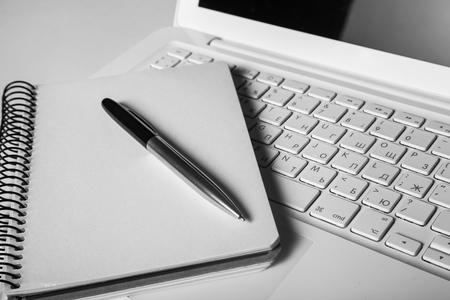 computer writing: Training. Stock Photo