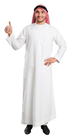 arab adult: Man.