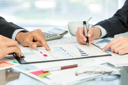 contabilidad: Impuesto. Foto de archivo