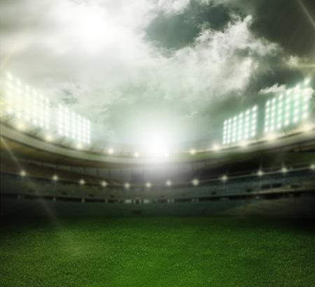 futbol soccer: Stadium.