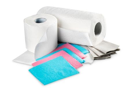 celulosa: Toalla de papel. Foto de archivo
