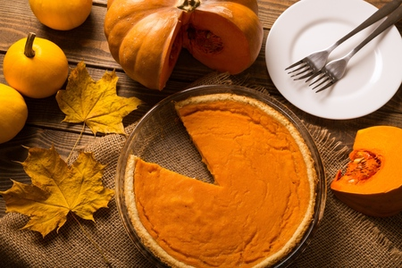 pumpkin pie: Pie.