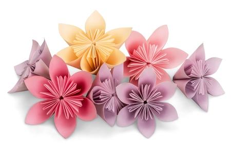 origami paper: Origami. Stock Photo