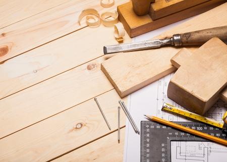 Carpentry. Stock Photo