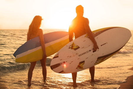 southern california: Surfing.