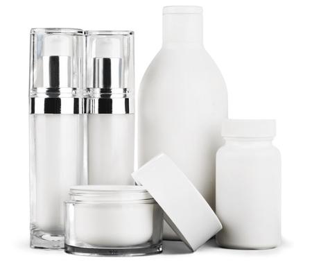 botellas de plastico: Cosméticos.