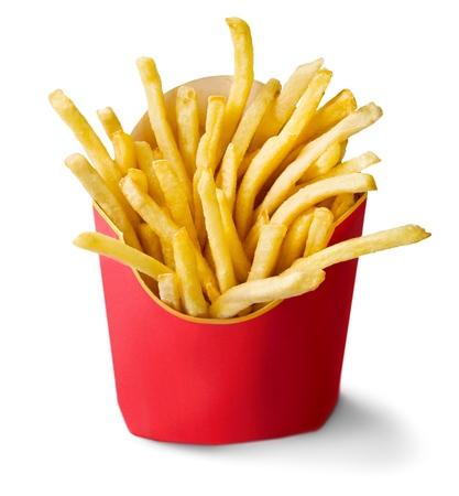 papas fritas: Papas fritas.