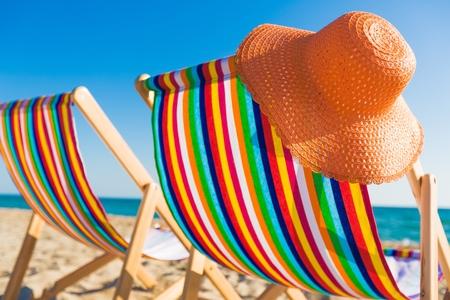 beach chair: Deck.