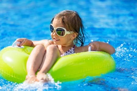 fun: Pool. Stock Photo
